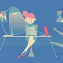 Comunidad de Madrid - Nueva website. A Illustration, Animation, Vektorillustration, 2-D-Animation und Zeichnung project by Paula Checa - 15.07.2018