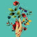 Mi Proyecto del curso: Ilustración flat con Photoshop. Un proyecto de Dibujo digital e Ilustración digital de Diana Perozo - 16.07.2020