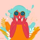 Desigual Magic - Illustrations - Loyalty App Program. Um projeto de Design de personagens, Ilustração vetorial, Diseño de iconos, Ilustração digital e Design de apps  de Veronica Isabel Iezzi Rincon - 16.07.2020