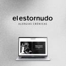 Revista El Estornudo. Identidad Visual y diseño de sitio web. Un proyecto de Diseño gráfico y Diseño Web de Greter Sánchez - 16.07.2020