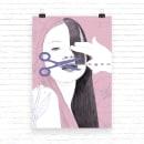 ¿Cambio y corto o corto y cambio?   ilustración. Um projeto de Design, Ilustração, Desenho a lápis, Desenho, Ilustração digital, Ilustração de retrato, Desenho de Retrato, Desenho realista, Desenho artístico, Decoração de interiores e Desenho digital de Vanessa Estefa - 07.05.2020