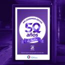50º aniversario de SOLCA - Manabí. Un proyecto de Diseño, Animación, Animación 2D y Diseño de carteles de Joan Vargas - 18.07.2020