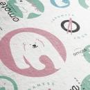 Omoté, a cute japanese restaurant from Singapure. Um projeto de Ilustração, Br, ing e Identidade, Diseño de iconos e Design de logotipo de Gilian Gomes - 19.07.2020