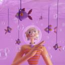 Draw in you style #1. Un progetto di Illustrazione, 3D, Direzione artistica, Character Design, Illustrazione digitale , e Character design 3D di Tati Astua - 21.07.2020