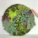 Circular paper greens. Un progetto di Artigianato, Papercraft e Interior Design di Eileen Ng - 21.07.2020