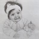 Retrato por el día de la madre. Un proyecto de Dibujo a lápiz, Dibujo, Dibujo de Retrato y Dibujo realista de Luz de María Felices Lizarbe - 10.05.2020
