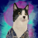 Ilustración Stanley the cat . Un proyecto de Ilustración y Dibujo digital de Carolina Alzate - 24.07.2020