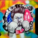* Strong *. Un proyecto de Ilustración, Pintura, Dibujo de Retrato, Dibujo realista, Dibujo artístico, H y lettering de David Ricardo Gonzalez Ariza - 18.06.2020
