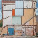 Palacios de la memoria - pinturas. Un proyecto de Pintura acrílica de José Rosero - 25.07.2020