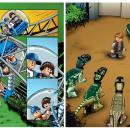 Lego comic coloring. Un proyecto de Ilustración digital e Ilustración infantil de Raquel Barros - 01.01.2020
