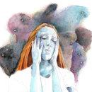 """""""With yourself"""" are many. Un proyecto de Ilustración, Dibujo a lápiz, Dibujo, Pintura a la acuarela y Dibujo artístico de Celia Leo - 26.07.2020"""