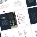 Sales deck for On the Spot Development. Um projeto de Design e Design gráfico de Katya Kovalenko - 26.07.2019