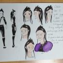 Proyecto curso creación de personajes manga. Um projeto de Ilustração, Design de personagens, Escrita, Desenho e Ilustração infantil de Paula Hamamè - 28.07.2020