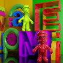 Bodegón - Mario y Luigi. Un proyecto de 3D de ENMANUEL RONDON - 28.07.2020