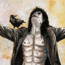The Crow. Un progetto di Illustrazione di Jose González Ruiz - 28.07.2020