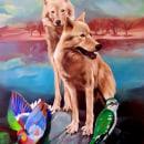 Lobos. Un projet de Peinture acr , et lique de Valentina Mendiburo - 29.07.2020