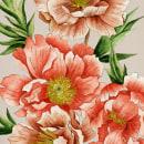 Flores. Acuarela. Un proyecto de Ilustración, Pintura a la acuarela e Ilustración botánica de Celia Fernandez - 29.07.2020