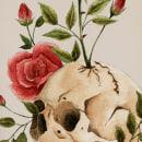 From death to life - remake. Acuarela. Un proyecto de Ilustración, Pintura a la acuarela e Ilustración botánica de Celia Fernandez - 29.07.2020