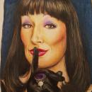 Mi Proyecto del curso:  Retrato realista con lápices de colores. A Realistic drawing project by Miss Doubts - 07.30.2020