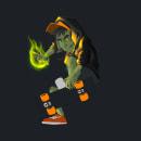 Skate guy sketch and colors in progress. Um projeto de Design de personagens, Esboçado e Desenho digital de Miguel Colina - 01.08.2020