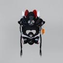 AJ Retro 4 BRED Mask. A Urban Art project by Juan Pablo Bello (MYSNKRS Customs) - 01.08.2020