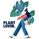 Plant Lover illustration. A Illustration, Design von Figuren, Vektorillustration, Zeichnung, Artistische Zeichnung und Botanische Illustration project by Paula Checa - 02.08.2020