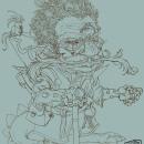 Fantasy character sketch. Um projeto de Design de personagens, Ilustração digital e Concept Art de Miguel Colina - 02.08.2020