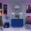 Mi Proyecto del curso: Color aplicado al diseño de interiores. Um projeto de Design, 3D, Arquitetura e Arquitetura de interiores de Florencia Morales - 02.08.2020