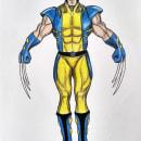 Mi Proyecto del curso: Ilustración para cómics: anatomía de un superhéroe. Um projeto de Desenho, Desenho realista e Desenho anatômico de Milagro Chuquiyanqui - 03.08.2020
