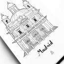 San Francisco El Grande, Madrid. Um projeto de Arquitetura, Artes plásticas, Desenho, Sketchbook e Ilustração com tinta de Juan Manuel Durán - 04.08.2020