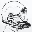 Character Design - Aircraft pilot girl. Um projeto de Design de personagens, Artes plásticas, Desenho, Sketchbook e Ilustração com tinta de Juan Manuel Durán - 04.08.2020