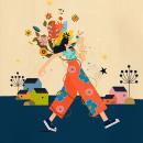 Mi Proyecto del curso de William Santiago: Ilustración flat con Photoshop. Un proyecto de Ilustración de Annick Piron - 06.08.2020
