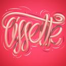 ¡Hola! Mi nombre es.... Un proyecto de 3D, Tipografía, Lettering, Lettering 3D y Diseño tipográfico de Erik Gonzalez - 06.08.2020