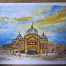 My project in Architectural Sketching with Watercolor and Ink course. Um projeto de Ilustração Arquitetônica e Pintura em aquarela de joms - 09.08.2020