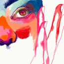 Mujer colores. Un proyecto de Ilustración, Bellas Artes, Pintura, Dibujo, Ilustración digital, Ilustración de retrato, Dibujo de Retrato, Dibujo realista, Dibujo artístico, Dibujo digital y Pintura digital de Paula - 11.08.2020