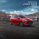 Matte Painting Toyota Agya. Um projeto de Retoque fotográfico de David Vega Palacios - 11.08.2020