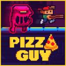 Videojuego: 'Pizza Guy'. Um projeto de Animação de personagens, Animação 2D, Videogames e Pixel Art de Daniel Benítez - 19.11.2019
