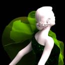 Virtual Fashion · Verde. Um projeto de 3D, Design de vestuário, Moda, Animação 3D, Design de moda, Modelagem 3D e 3D Design de Diego García Carpintero - 04.07.2020