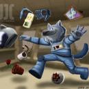 Lobo - Mi Proyecto del curso: Pintura digital de personajes: ilustra con luz y color. A Illustration, Digital Drawing, and Digital Painting project by Juan Campoo - 08.16.2020