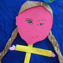 Mi Proyecto del curso: My family and other .... Um projeto de Ilustração, 3D, Design de personagens, Artesanato, Artes plásticas, Criatividade, Ilustração de retrato e Criatividade para crianças de Maria Carbó Ponce - 22.05.2020