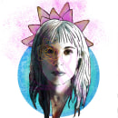 Mi Proyecto del curso: Retrato ilustrado con Photoshop. Un proyecto de Ilustración, Ilustración digital e Ilustración de retrato de Valeria Chavez - 20.08.2020