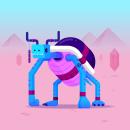 Ogu monsters. Um projeto de Design, Ilustração, Design de personagens, Design de brinquedos, Ilustração vetorial, Criatividade e Ilustração digital de Io García - 23.08.2020