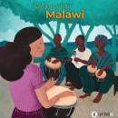 Carolina vai ao Malawi // book. A Digital illustration, and Children's Illustration project by Eva Uviedo - 04.10.2020