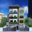 Edificio residencial multifamiliar. Un proyecto de 3D de Lorena Dantas - 27.08.2020