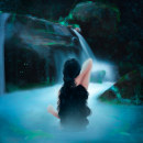 Waterfall Girl. A Illustration, Painting, Drawing, Digital illustration, Artistic drawing, Digital Drawing, and Digital Painting project by Bia Coliath - 08.27.2020