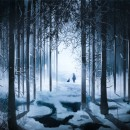 Winter Forest Concept Art. A Illustration, Painting, Drawing, Digital illustration, Concept Art, Artistic drawing, Digital Drawing, and Digital Painting project by Bia Coliath - 08.27.2020