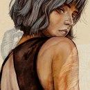 Mi Proyecto del curso: Retrato ilustrado con Procreate. Un proyecto de Pintura digital de jpinos - 28.08.2020