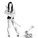 Mi Proyecto del curso: El dibujo como base creativa. Un proyecto de Ilustración, Bocetado, Ilustración digital, Ilustración de retrato y Dibujo digital de Maria Esturillo - 29.08.2020