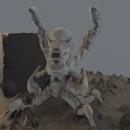 Mi Proyecto del curso: Escultura digital de criaturas fantásticas con ZBrush. Um projeto de 3D e Modelagem 3D de Daniel Núñez García - 29.08.2020