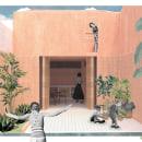 Mi Proyecto del curso: Representación gráfica de proyectos arquitectónicos. Um projeto de 3D, Arquitetura, Arquitetura de interiores e Arquitetura digital de Sebastián Giraldo Torres - 02.09.2020